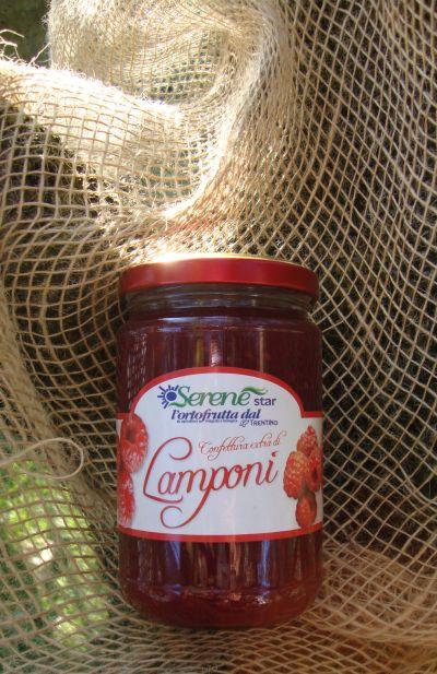 Confettura di lamponi